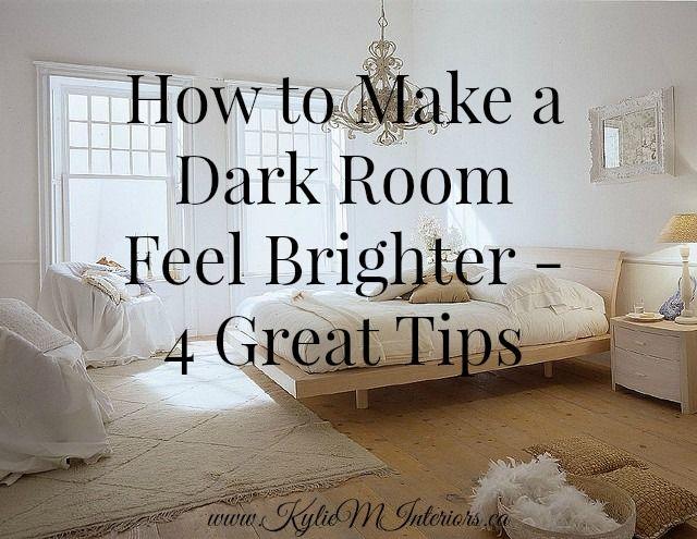 lighten a dark room